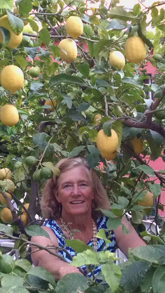 Suzanne with Lemons